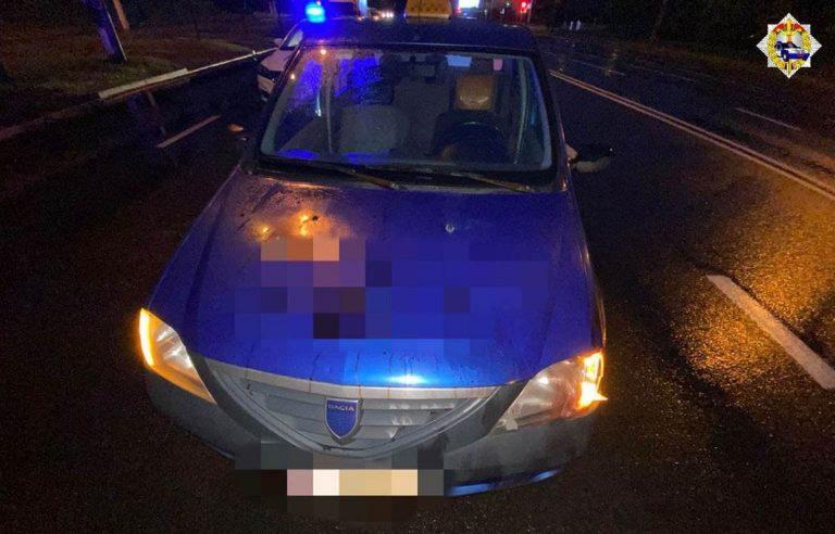 водите Dacia сбил пешехода