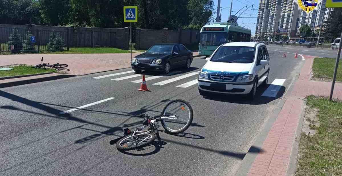 ДТП с велосипедистами на Минщине