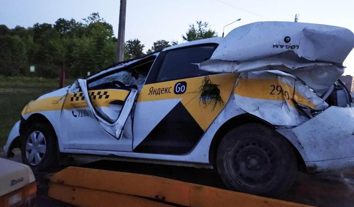 ДТП с такси