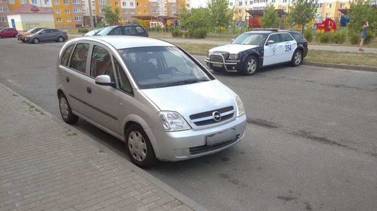 Opel сбил ребенка