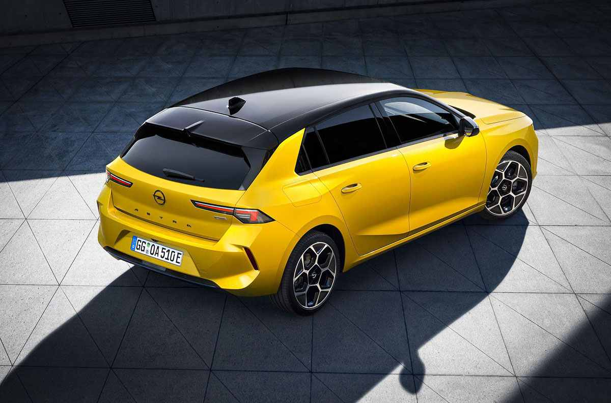 Opel Astra 6 поколение