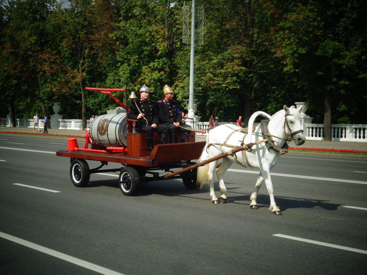 Пожарной службе Республики Беларусь исполнилось 168 лет