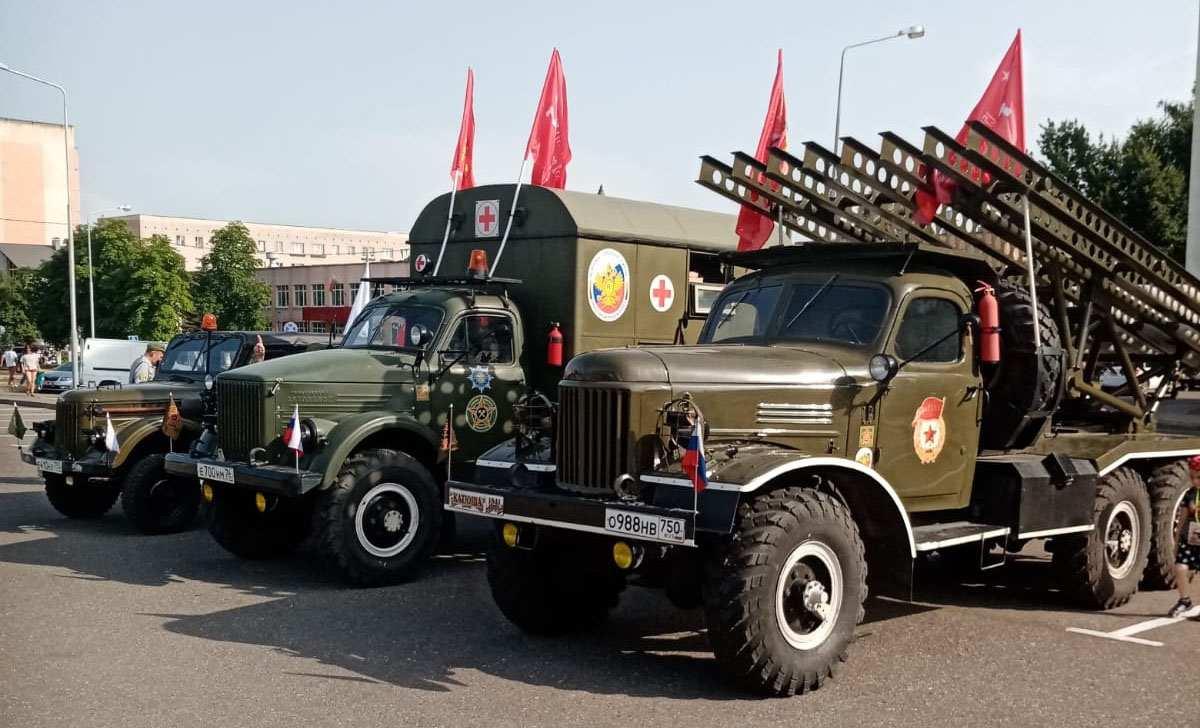 Военно-патриотический фестиваль в Оршанском районе