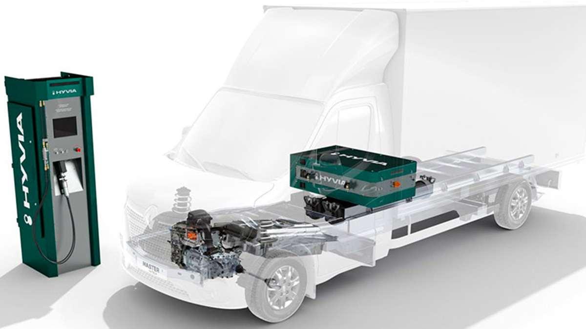 водородный Renault Master