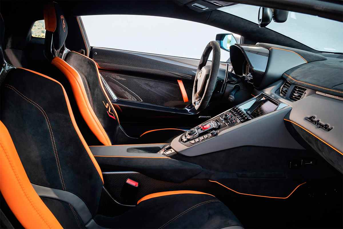 Lamborghini Aventador SVJ