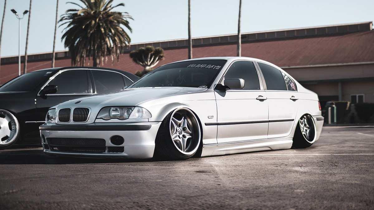 тюнингованный BMW