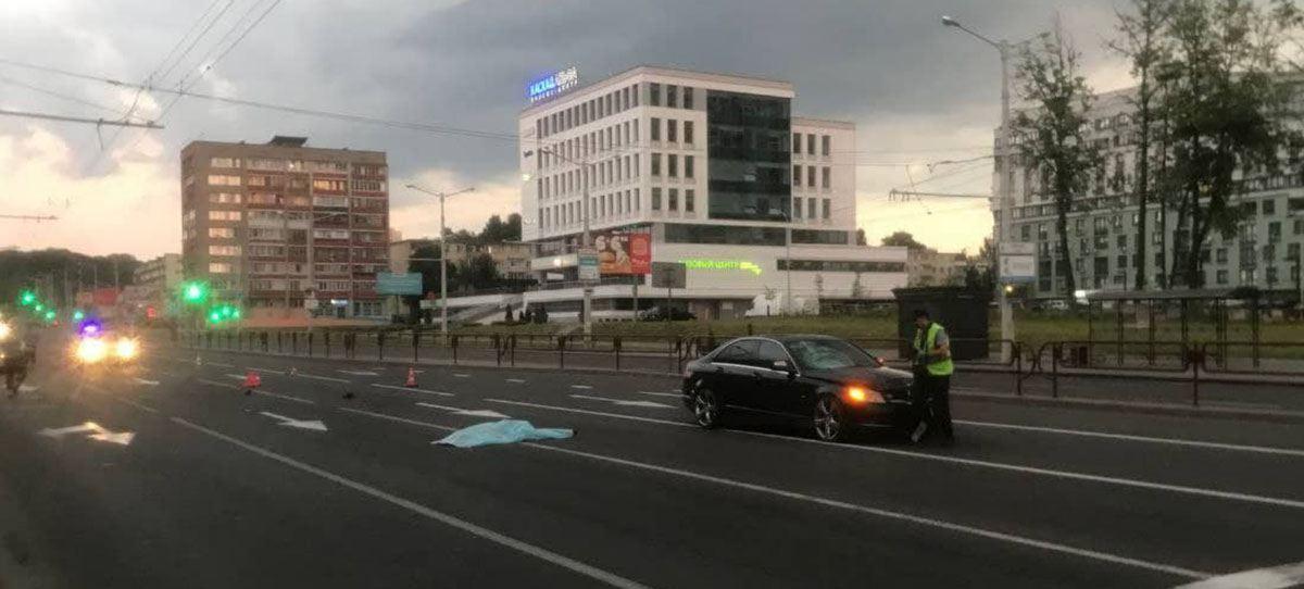 Насмерть сбил пешеход на Кальварийской