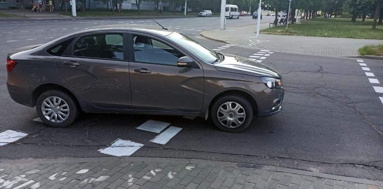 ДТП с самокатом в Минске