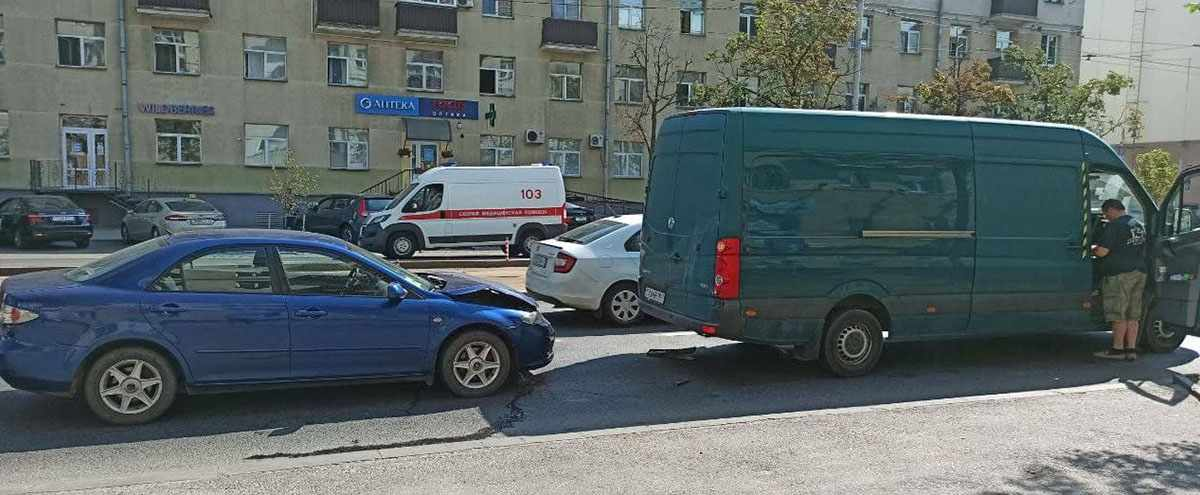 ДТП в Минске на Долгобродской