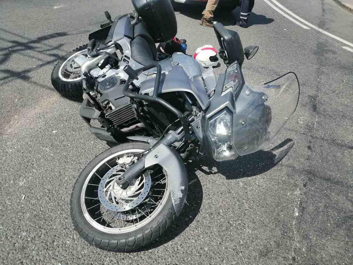 В Минске в ДТП пострадал мотоциклист