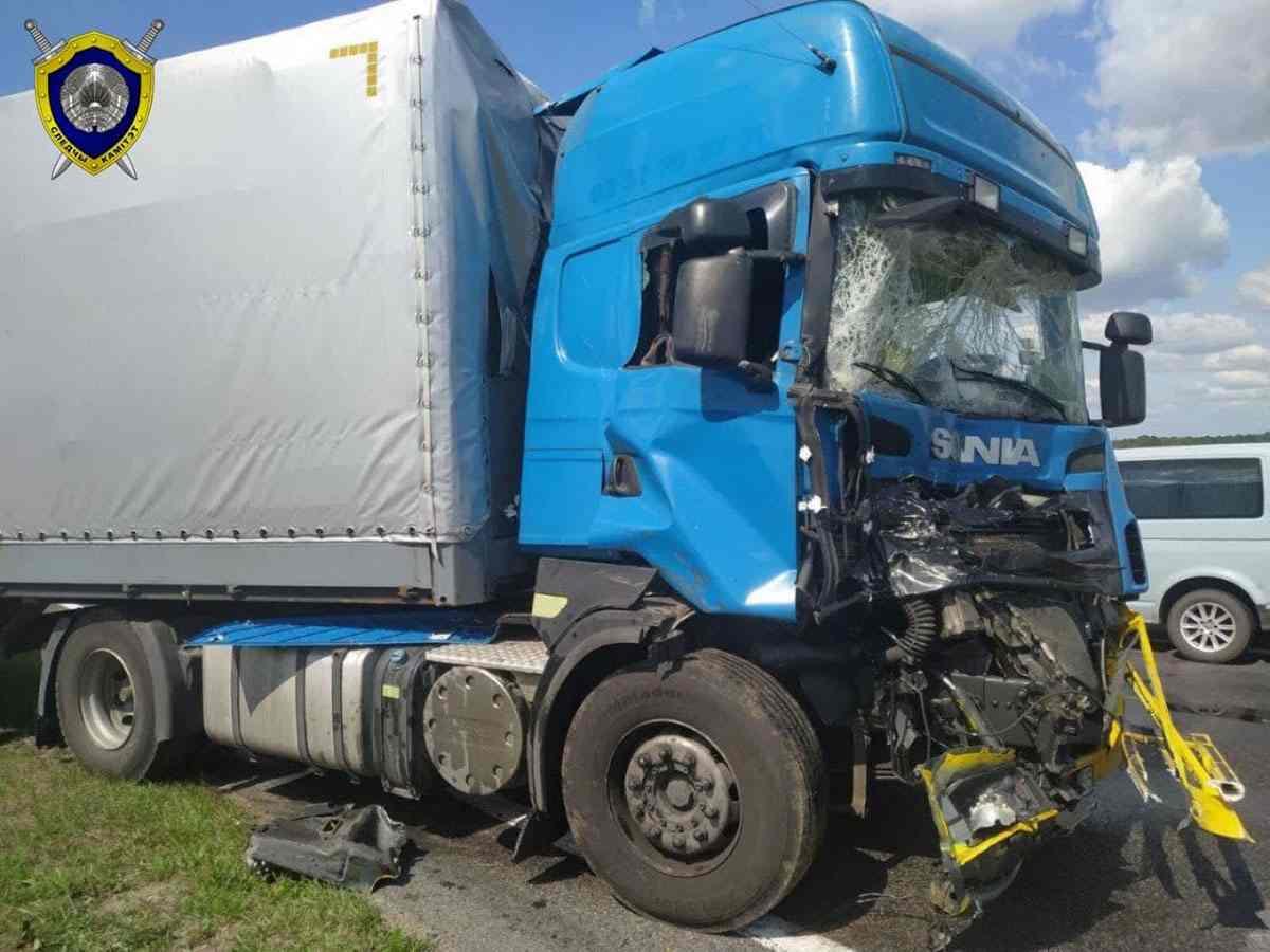 ДТП с армейским грузовиком