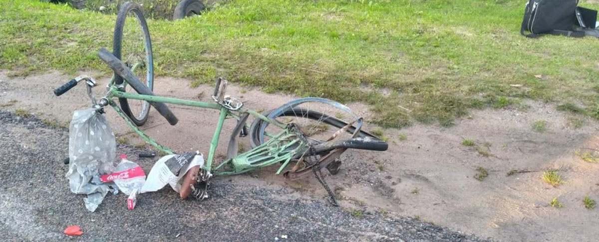 велосипедист погиб от плуга