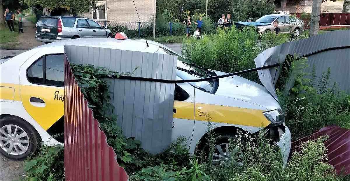 ДТП двух Renault в Молодечно
