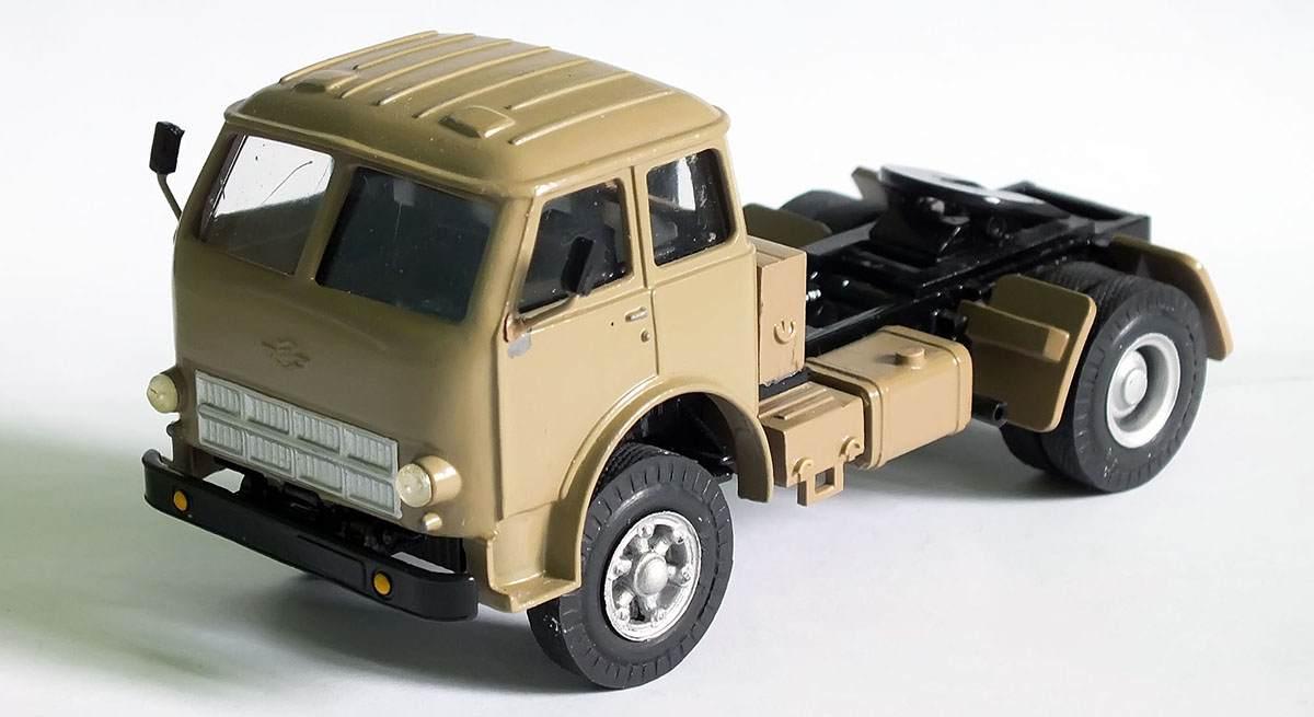 История создания копийных моделей грузовиков МАЗ
