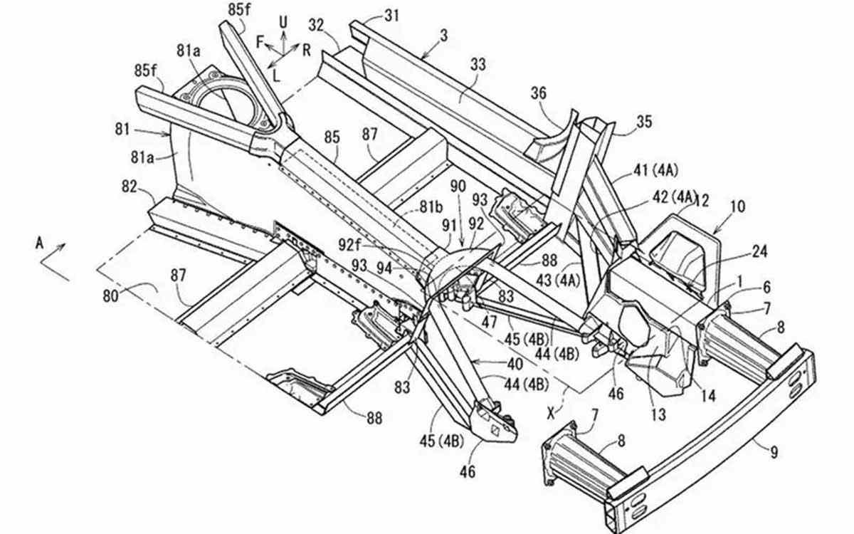 Mazda патент