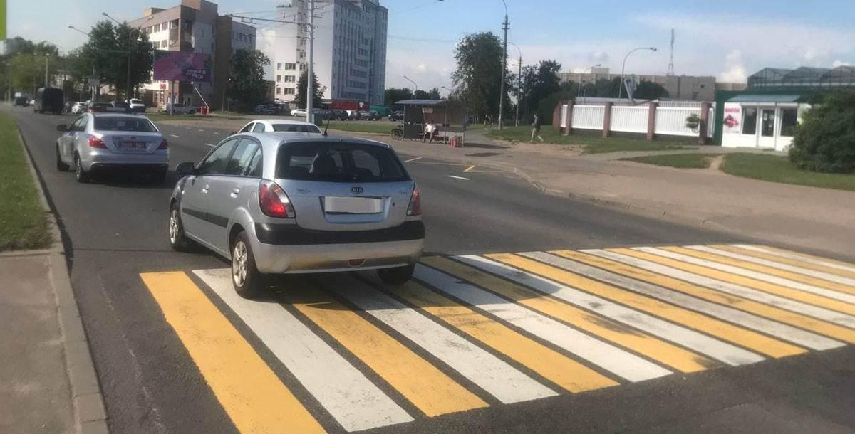 наезд на пешехода на Филимонова