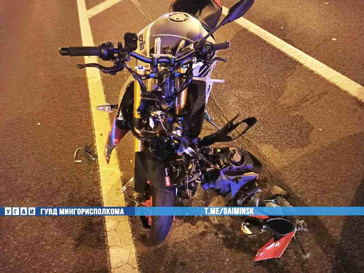 ДТП двух мотоциклистов