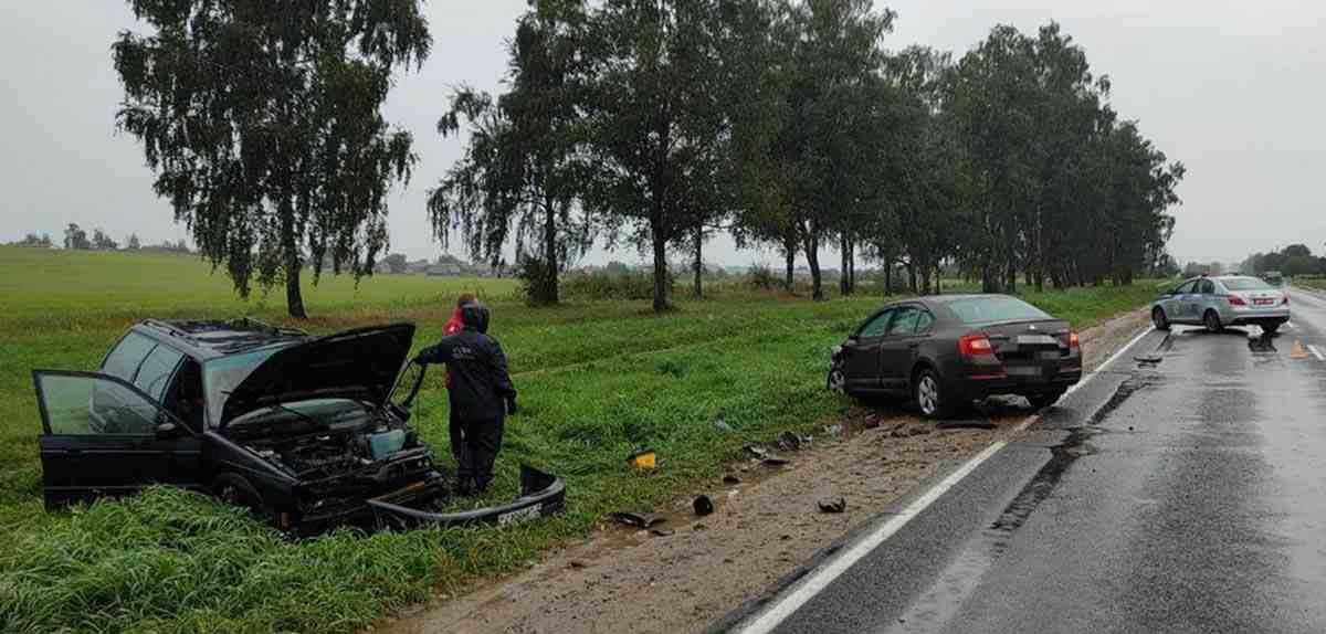 ДТП Skoda и VW