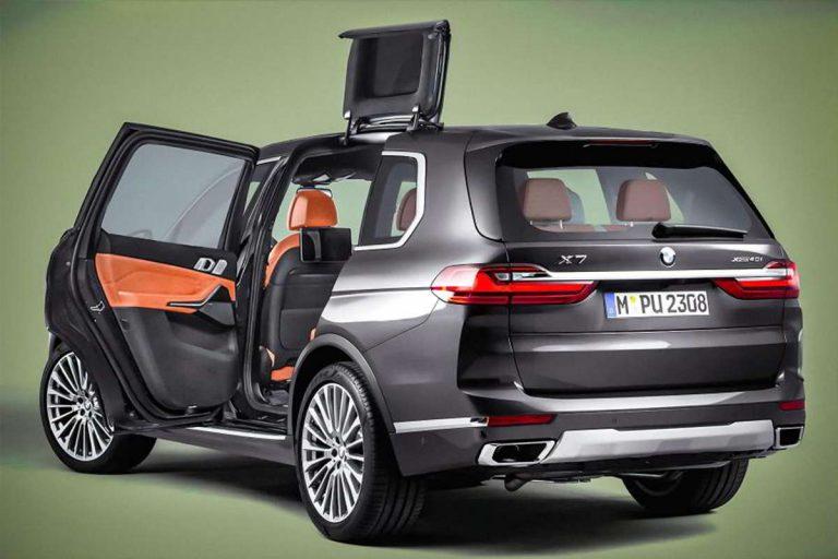 патент дверей BMW