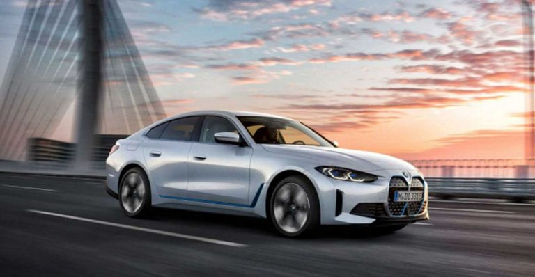 электрокар BMW