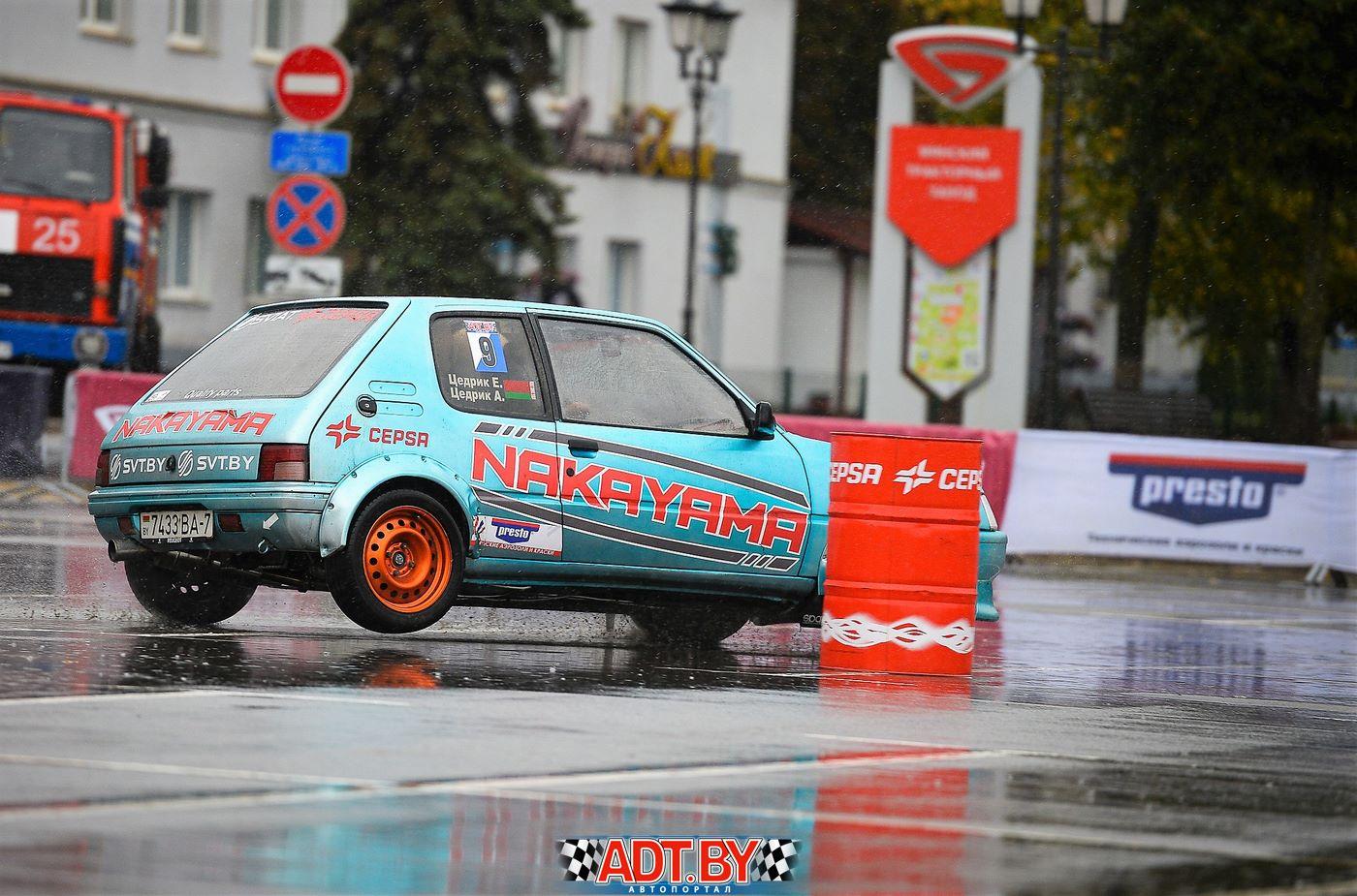 Финал кубка ADT Gymkhana в Минске