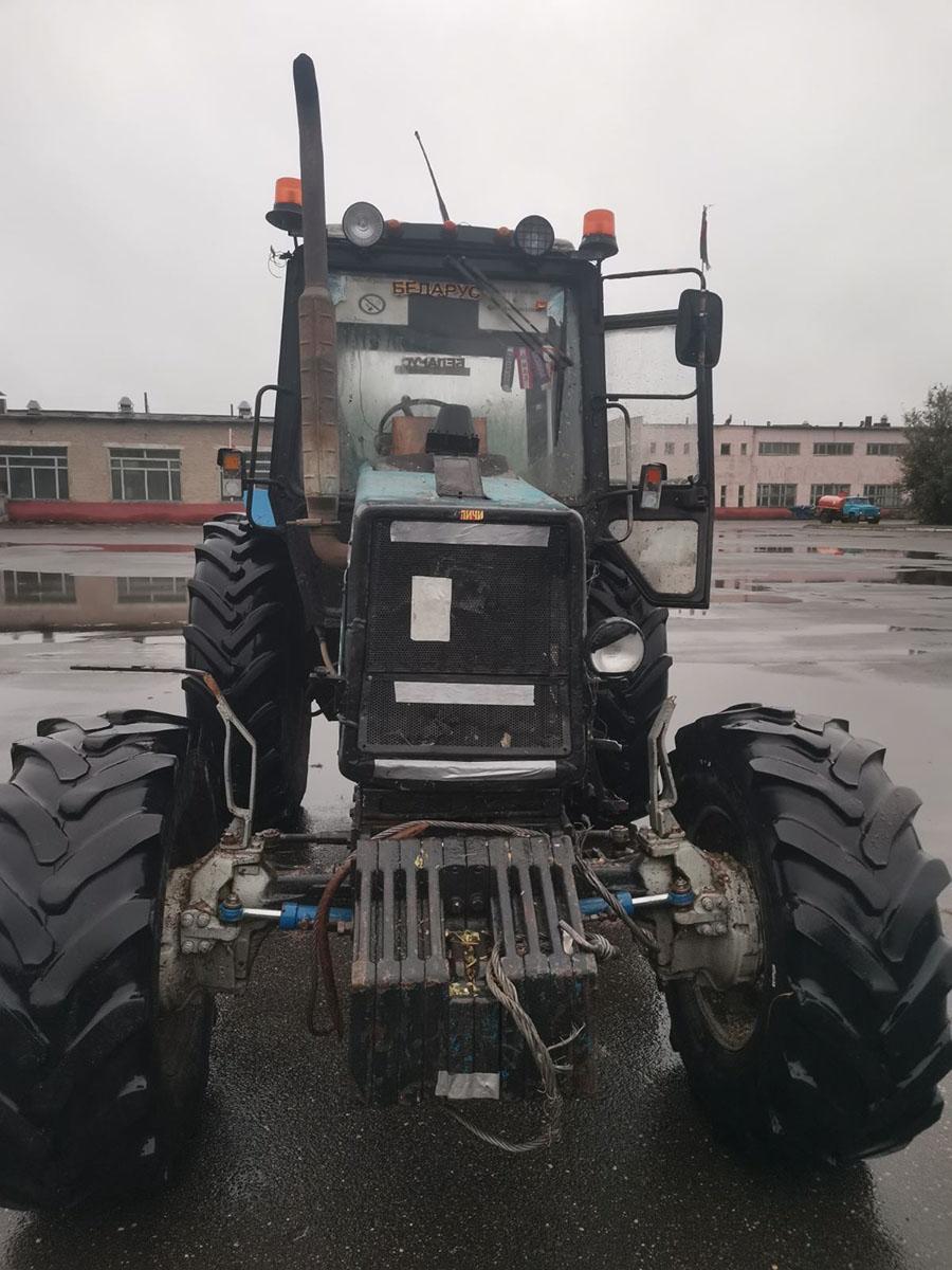 смертельное ДТП с трактором