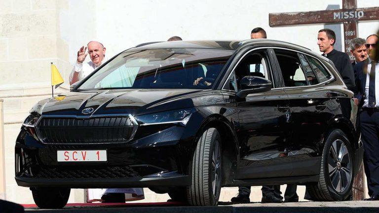 Skoda для Папы Римского