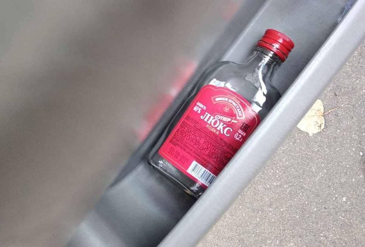 водитель с 4-мя промилле алкоголя