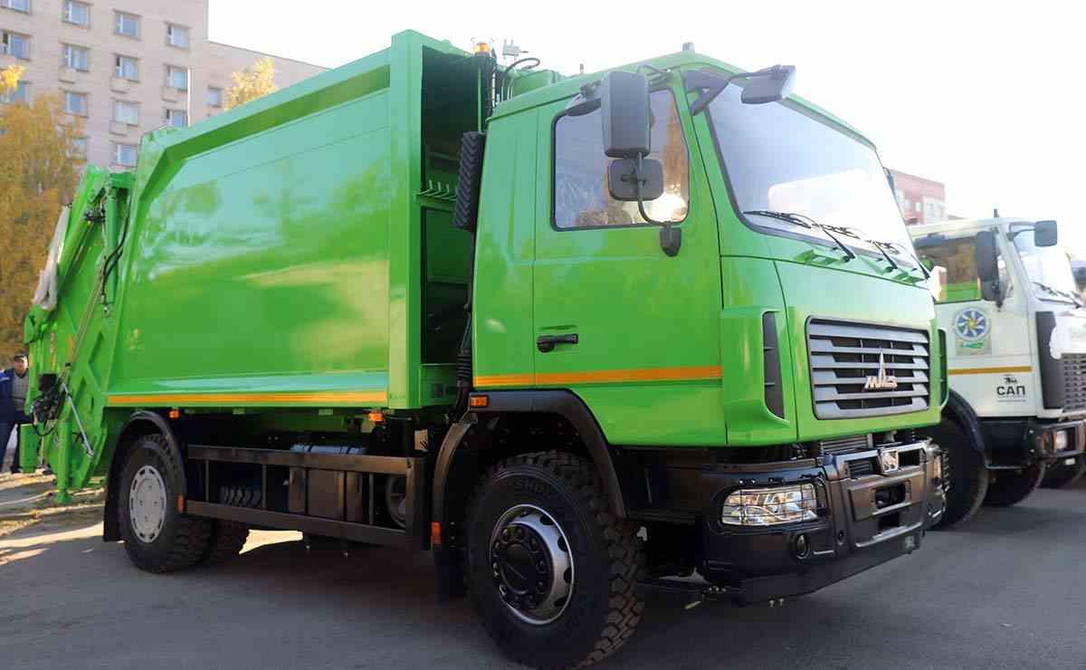 Мусоровоз МАЗ-590425-012