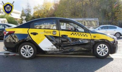 ДТП такси и маршрутного такси