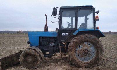 ДТП с трактором в Каменецком районе