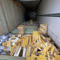 Белоруса-дальнобойщика задержали на Украине за контрабанду сигарет